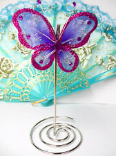 Butterfly Table Top Party Quinceanera Place Card Photo Holder Wedding Favors #P