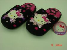 NWT Girls Hello Kitty Scuff Slippers Sanrio Cat Kitten