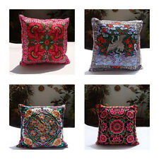 Thai Cushion Silk Pillow Cases Covers Case Beautiful Great Gift