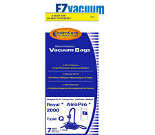 Royal Aire 2000 Type Q Allerge Canister Vacuum Cleaner Bags #3-RY2100-001