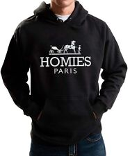 HOMIES PARIS HOODIE SOUTH FUNNY PARODY HOODED SWEATER DOPE SWAG HIPSTER NEW