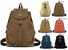 New Retro Vintage Canvas Backpack Travel Sport Handbag Rucksack Tote Satchel Bag