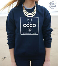 * GLEN COCO No 4 Jumper Sweater Top TUMBLR You Go Homies No4 Mean Girls t-shirt