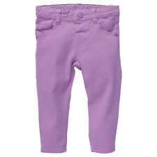 Baby Girls New With Tags Light Mauve Stretch Jeans/Pants - Size 3-18 Months
