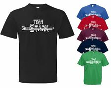 TEAM STARK Game of Thrones TV book, Series and DVD box set inspired t shirt
