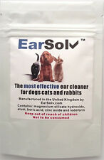 EarSolv Dog Ear Cleaner For Dog Ear Wax In Dogs Cats and Rabbits