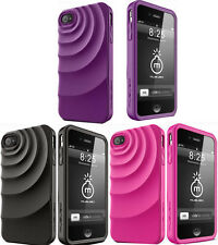 Musubo MU11006 Ripple Case for Apple iPhone 4/4S, New, Different Colors