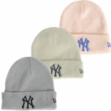 New Era NY Cuffed Knitted Beanie Hat  Mens Size