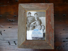 Lot of (3) 4x6 5x7 Rustic Weathered Reclaimed Barn Wood Barnwood Picture Frames
