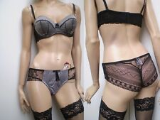 Boutique Quality Satinised Silky Bra with Complimentary Brief,Pick & Mix Sizes.