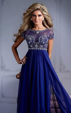 HOT Royal Blue Formal Evening Party Dresses Pageant Prom Dress Gown AAA