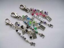 Personalised Cooking/chef/cook theme Bag Charm-3 colours to choose from