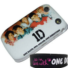 ONE DIRECTION CASE FOR BLACKBERRY CURVE 9320 9220 BACK COVER 1D + WRISTBAND