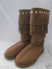 NIB UGG Australia & Jimmy Choo Sora Boot Women Limited Edition Chesnut