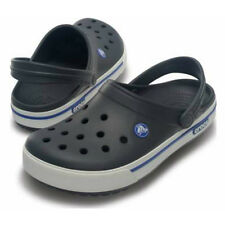 Crocs - Crocband ii.5 Clog - Charcoal/Sea Blue