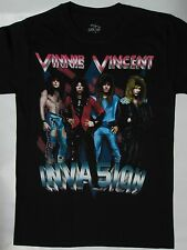 Vinnie Vincent  Invasion -All Systems Go Tour '88 T-shirt .. Slaughter,Tora Tora