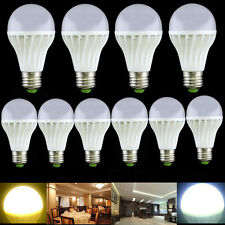 10PCS E27 E26 10W LED Lamp Bulb White Warm Light Energy Saving Bright AC85V-260V