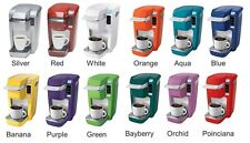 Keurig B31 Mini Plus Single Serve Coffee Brewer 6 Free K-Cups, COLOR CHOICE NEW