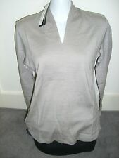 NEW Ladies Size 10 18 STONE 100% Merino Wool FINE KNIT Top Sweater Jumper RRP$99