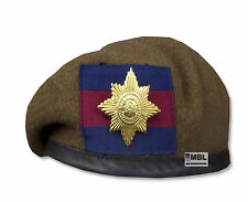 IRISH GUARDS OR's BERET & BRASS CAP BADGE HIGH QUALITY 54-62cm 'THE MICKS' IG