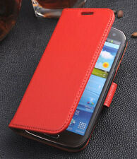 Genuine Real Leather Flip Case Cover For Samsung Galaxy S3 SIII i9300 S III