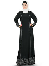 Raameen Abaya/Jilbab AY333 Islamic Hijab Clothing, Muslim Dress, Modern Burqa