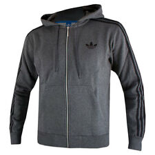 New Mens Adidas Originals SPO Grey Hooded Flock Jacket X52728 XS S XL X52728