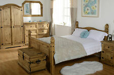 Corona Bedroom Furniture | Solid Mexican Pine