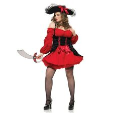 Vixen Pirate Wench Plus Size Adult Womens Costume Sexy Halloween Outfit