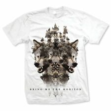 BRING ME THE HORIZON Wolven T-shirt (White) Mens New 'Official'