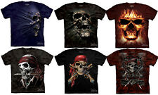 BREAKTHRU SKULL T Shirt Dark Fantasy Dead Pirate Skull Tee Shirts
