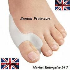 Gel Cushion Pad Bunion Protectors-Toe Separators, Rapid Pain Relief for Big Toe
