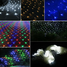 2M X 3M 210/320 Led Flash Web Net Fairy Light Lamp Christmas Xmas Party 8 Models