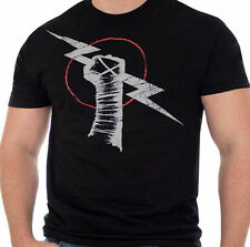 CM Punk AFTERSHOCK WWE Authentic T-Shirt Black  OFFICIAL LICENSED NEW