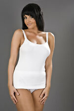 Ladies, Womens Thermal Cami Vest. White or Black. Sizes 10/12, 14/16, 18/20