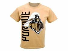 """Purdue Boilermakers NCAA New Agenda """"Go Large"""" Youth Tee New With Tags"""