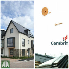 Cembrit Fibre Cement Slates   Roof Tiles   Smooth or Dressed Edge   Roof Pack
