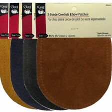 DRITZ SUEDE ELBOW REPAIR PATCHES SELECT COLOR FROM MENU