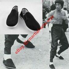 Bruce Lee Kungfu Taichi Wing Chun Shoes Chinese Traditional Cloth Shoes