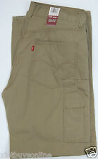 Levis Carpenter  Work Wear Khaki  6401590  Levi's 100% Cotton Levis