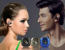 Smallest Bluetooth Headset Handsfree Headphone for Cell Phone iPhone Samsung HTC