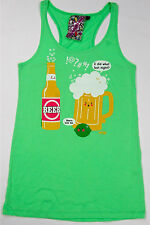 """New Breed Girl Tank Top  """"I did What Last Night ? """" 100% Cotton   Made In USA"""