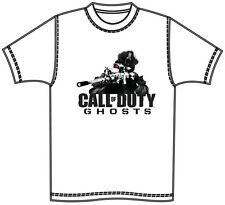GAME ICONZ CALL OF DUTY BLACK OPS GHOSTS TEE SHIRT COD PS3 GAMER XBOX
