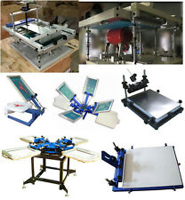 flat/cylinder Screen Printer:PAPER,PEN,CUP,STICK,Tshirt,BAG,Multi station color