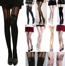 Sexy Fashion Pantyhose Design Pattern Printed Tattoo Stockings Tights Leggings