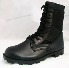 Men's Boots Jungle GI Type Black Tactical Combat Military Work Shoes, Sizes:6-13