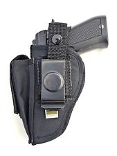 Beretta 81 84 85 | Nylon OWB Belt Gun Holster with Mag Pouch. MADE IN USA
