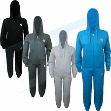 New Ladies Women Full Tracksuit Jogging Sports Wear Running Suit Size UK 8-14