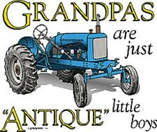 """Grandpas are just """"Antique"""" boys White T-Shirt Any Size ~ Great Gift ~"""