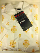 SOUTHPOLE Boy's Short Sleeve Polo Shirt White Size Large 16-18 NEW WITH TAG